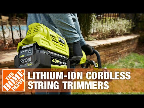 The Craftsman 40 Volt Cordless Line Trimmer and Cordless Hedge Trimmer
