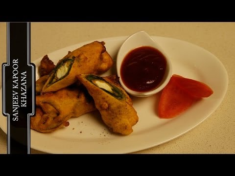 PALAK PANEER PAKORE (Spinach and Cottage Cheese Pakora)