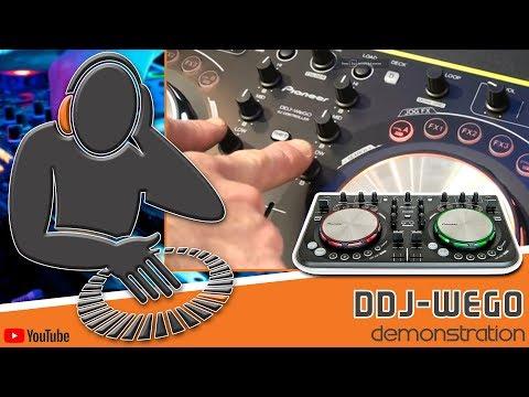 Pioneer DDJ-WeGo DJ Controller - Demonstration