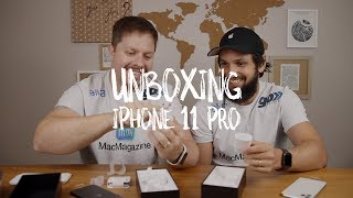 Unboxing dos iPhones 11 Pro e 11 Pro Max!