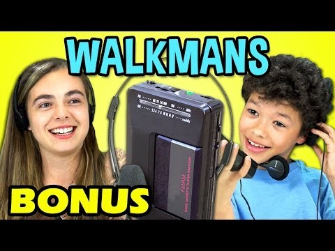 Kids React To Walkmans (bonus #101) video