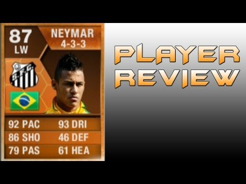 FIFA 13 MOTM NEYMAR PLAYER REVIEW