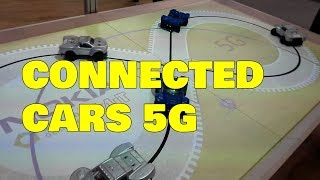 Connected Cars Technology with 5G Demo (Autonomous Driving)