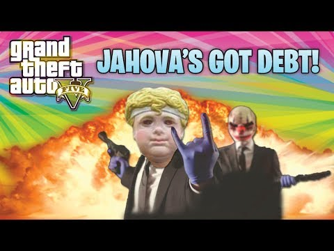GTA 5 Funny Moments! Jahova Has Debt To Pay! (GTA Online Funny Moments) klip izle