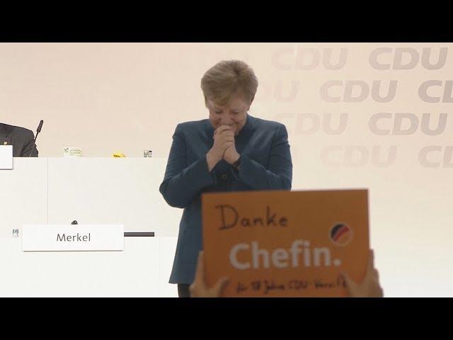 Neun Minuten Applaus Hier der emotionale Abschied von Angela Merkel in voller LГnge