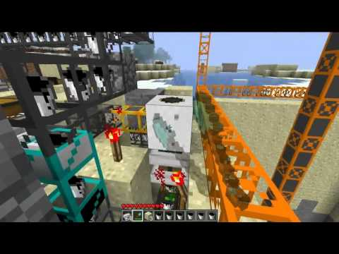 [Minecraft] - BuildCraft 2.1.1 Show Of Quarry Addon Music Videos
