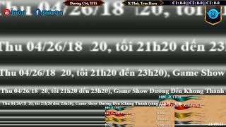 AoE 22 Random Dương Còi, TiTi vs Xuân Thứ, Tom Hera Ngày 26-04-2018