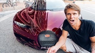 THE $4 MILLION BUGATTI CHIRON, FIRST RIDE! | VLOG² 24