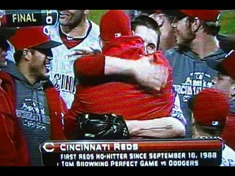"""Homer Bailey No Hitter"" ""Last Out"" ""Cincinnati Reds"" Against ""Pittsburgh Pirates"""