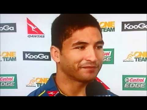Anthony Faingaa expresses his love for Quade Cooper