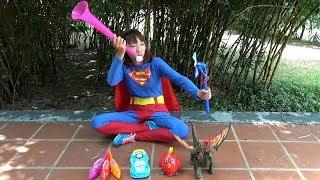 Siêu Nhân Bán Đồ Chơi – SUPERMAN SELLING TOYS ❤ BIBI TV ❤