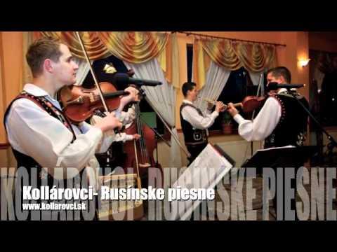 Rusínske piesne- Kollárovci - YouTube