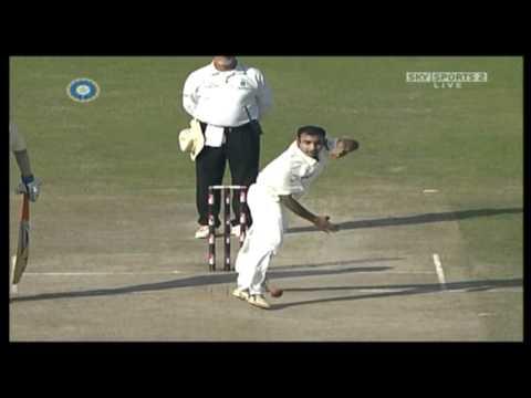 Cricketcoachingblog.co.uk - Amit Mishra Bowling Action
