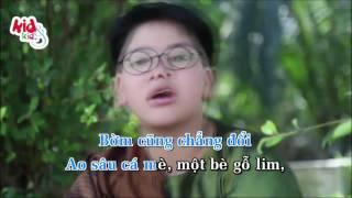 Thằng Bờm Có Cái Quạt Mo - Quang Nam [ Karaoke ]