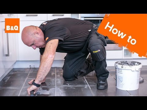 How to Tile a Floor Part 3: Grouting