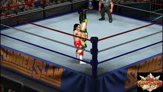 FPWW video game: Kassius Ohno vs. Honky Tonk Man [Free Cam view]