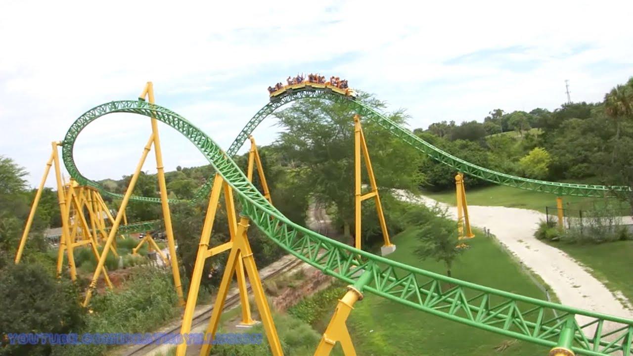 Sky Ride On Ride Hd Pov Busch Gardens Tampa Bay Youtube