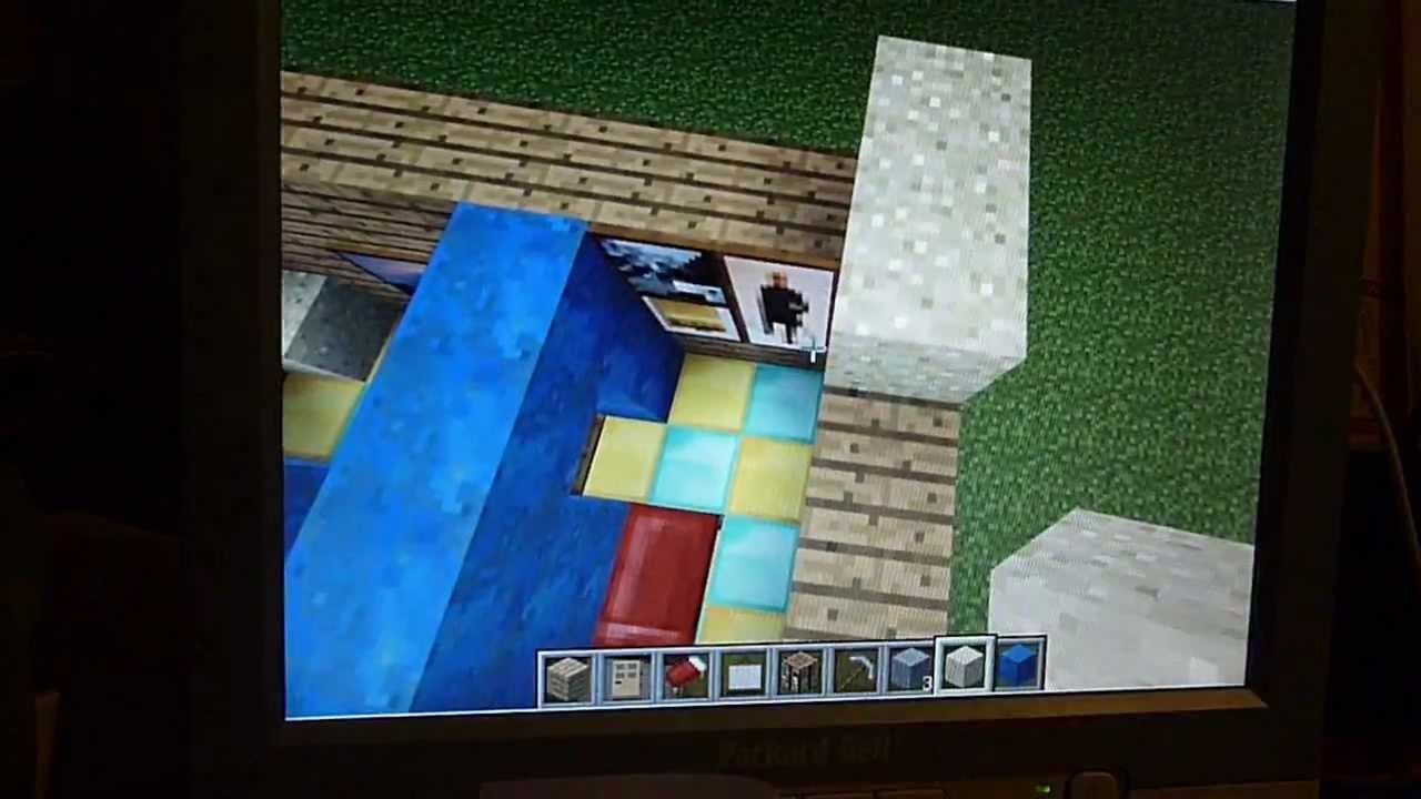 comment faire une maison de luxe sur minecraft youtube. Black Bedroom Furniture Sets. Home Design Ideas