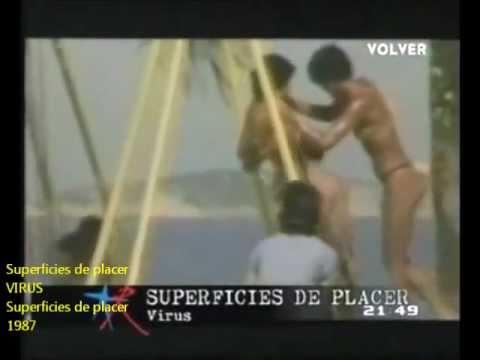 virus-superficies de placer (videoclip oficial 1987)
