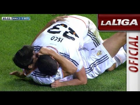 Gol de Isco (2-1) en el Real Madrid - Real Betis - HD