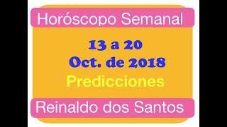 Horóscopo Semanal del 1320 Oct. 2018