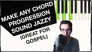 Download Lagu How to Make ANY Chord Progression Jazzy with Secondary Dominants (ESSENTIAL for GOSPEL) Gratis STAFABAND