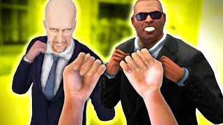 FIGHT FOR NO REASON! One Punch K.O.? - Drunkn Bar Fight VR Gameplay