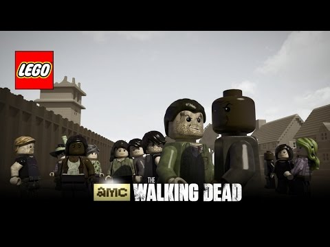 Lego The Walking Dead trailer