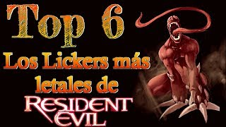 Top 6: Los Lickers más letales de Resident Evil