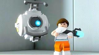 LEGO Dimensions - Portal 2 Adventure World - All Quests