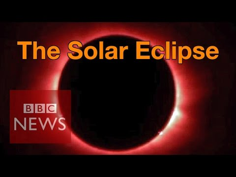 Solar Eclipse: 'Breathtaking' views witnessed by millions - BBC News