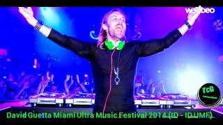 David Guetta Miami Ultra Music Festival 2014 ( ID - ID UMF )