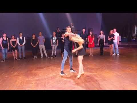 UZC2018: Artists Introductions Anastasia & Carlos ~ Zouk Soul