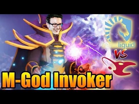 Miracle- INSANE Invoker SKILL - Liquid vs Mousesports Dota 2