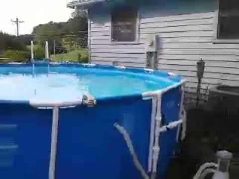 homemade pool fountain how to save money and do it yourself