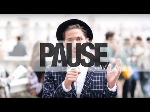 London Fashion Week - Men's Street Style Interviews 2014