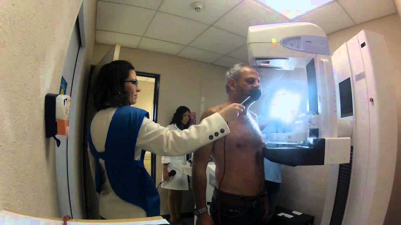 Mastografía Masculina desde el Centro Médico ABC - YouTube