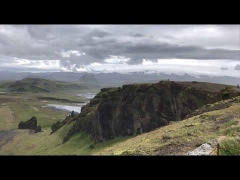 Puffins, Black Sand Beaches, and a Windy Bluff in Iceland