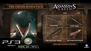 "Assassins Creed Liberation HD Voodoo Pack ""Pre Order Bonus"""