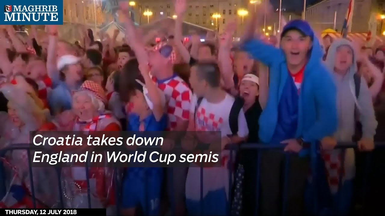 Croatia takes down England in World Cup semis