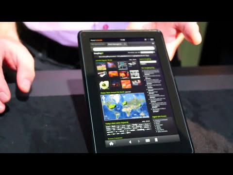 Amazon Fire Silk browser demo