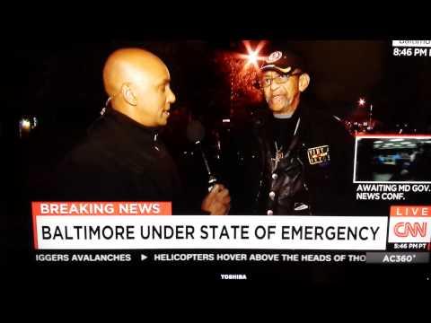 Vietnam Vet. Robert Valentine on Baltimore Riots