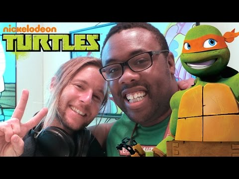 NINJA TURTLES Greg Cipes & Ciro Nieli Interview : Black Nerd