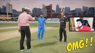 India vs New Zealand 2019 Amazing Last Over • Ashes Cricket Gameplay