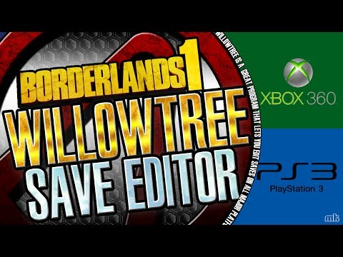 Borderlands 1 | Willowtree Save Editor | Xbox 360 To PC ... Borderlands 2 Save Editor