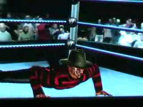 FREDDY KRUEGER Nightmare on WWE street