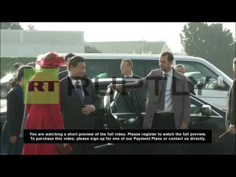 Xi Jinping and Belgian king talk Volvo and cars