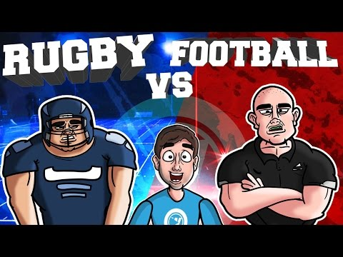 RUGBY vs. FOOTBALL | Bad British Commentary