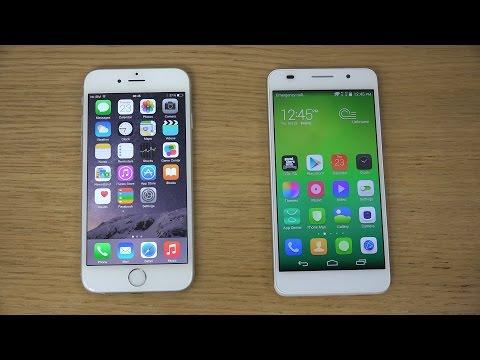 iPhone 6 vs. Huawei Honor 6 - Review (4K)