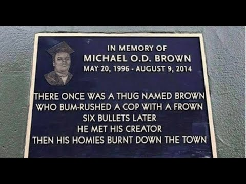 Police Group Reveals Racist Monument To Michael Brown